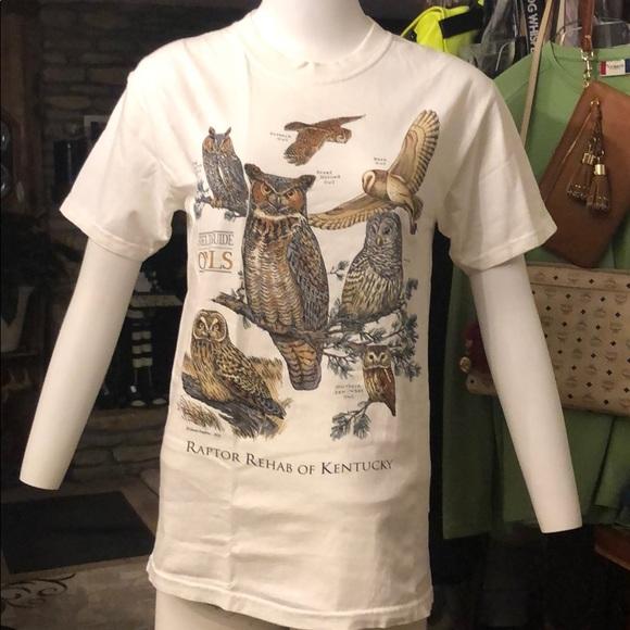 Raptor Rehab of Ky owls T-shirt